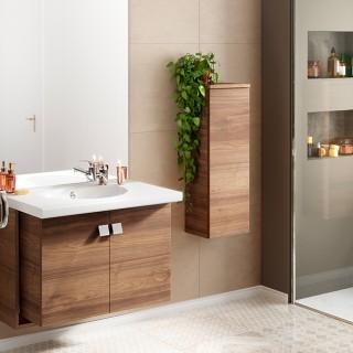 Meubles de salles de bain à portes - Chêne Vert