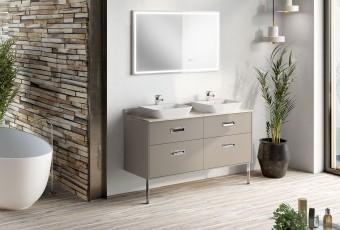 Meuble de salle de bain ODEYA - Chêne Vert