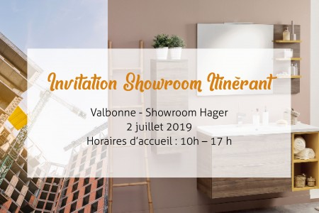 Invitation Showroom itinérant Nice