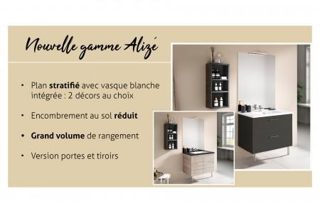 Nouvelle gamme ALIZE : une gamme économique adaptée aux chantiers, et aux consommateurs