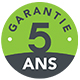 Garanti 5 ans